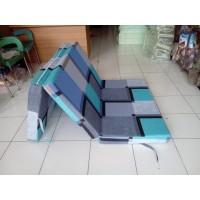 Cover Sarung Selimut Kasur Busa Inoac uk100x200x10cm lipat 3 motif