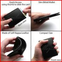 Slim Mini Compact Bifold Mens Wallet Dompet Tipis Minimalis SL1-MINI