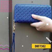 Dompet Wanita 1 Sleting Glossy UK20CM DKF7302