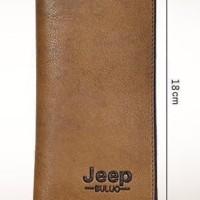 Dompet Panjang Kulit Long Wallet Jeep Buluo 8068