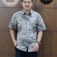 Raditya Kemeja Batik Solo Lengan Pendek Full Furing By SM