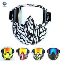 Baru Masker Wajah Anti Angin / Air untuk Outdoor / Riding / Cuaca /