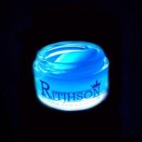 BARU POMADE RITJHSON GLOW IN THE DARK BLUE BIRU FREE SISIR SAKU