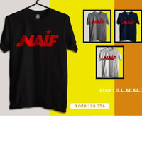 Kaos Baju Obral Combed 30s Distro Naif Band Indonesia Polos Custom