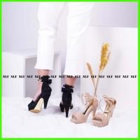 Nlt High Heels Pita Wanita Pesta Belakang