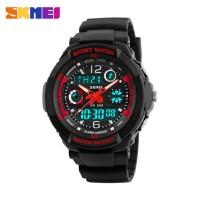 jam tangan anak laki laki Original SKMEI anti air JIO1060 MERAH H