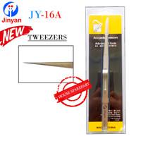 Jinyan Pinset Tweezers Lurus Tajam Jy-16A Stainless Steel Original 280
