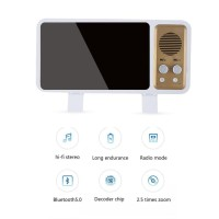 P9 Speaker Audio Mini Klasik Bluetooth Retro TV Untuk iPhone Huawei Mi
