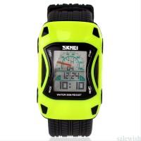 jam tangan original anak laki laki anti air Sport Car SKMEI Hija