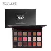 FA40 FOCALLURE 18 Colors Shimmer Matte Glitter makeup Eyeshadow