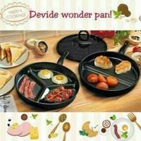 Panci & Penggorengan -) Divide Wonder Pan Set / 3 pans in 1