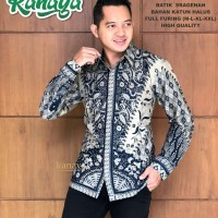 Byantara Kemeja Batik Solo Lengan Panjang Full Furing By Kanaya
