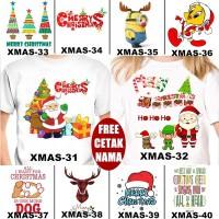 terbaik KAOS & BAJU NATAL CHRISTMAS COUPLE ANAK BANYAK MOTIF