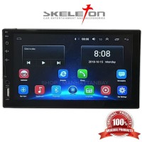 Head Unit Android Double Din Tape Mobil Skeleton Original Bergaransi