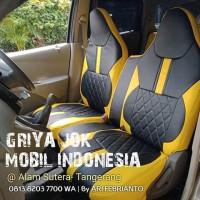 Sarung Jok Datsun Go Plus 3 Baris Fullset Sarung jok Calya Sigra