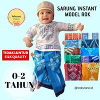 Sarung Instan Anak Bayi 0-2 Tahun Best Quality/Songket Cowok Model ROK