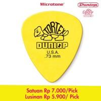 Dunlop Tortex 0.73 mm Standard Guitar Pick / Pik Gitar 0.73mm USA