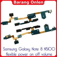 Samsung Galaxy Note 8 N5100 flexible switch tombol power on off volume