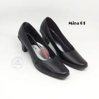 sepatu pantofel kerja sekolah wanita Mira-01