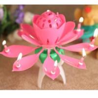 Music Candle / Lilin Lotus / Lilin Bunga Teratai / Lilin Nyanyi