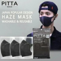 PITTA Masker Jepang Anti Virus CORONA Polusi Masker Motor