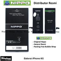 Baterai Hippo iPhone 6 6G Original Batre Batrai HP Garansi Resmi
