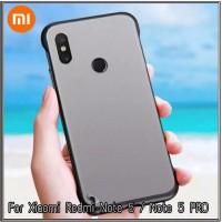 Case Xiaomi Redmi Note 5 Pro Soft Hard TPU HD Tranparanst Casing Cover