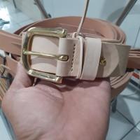 Ikat Pinggang Sabuk Kulit Natural Vegtan Leather Belt