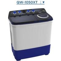 AQUA QW-1050XT Mesin Cuci 10 Kg 2 Tabung QW1050XT Hijab Mode