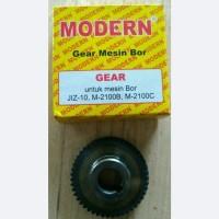 Gear Mesin Bor MODERN JIZ-10, M-2100B dan M-2100C Sparepart