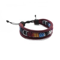 Gelang Simple Paracord Ethnic - Handmade - High Quality - 01