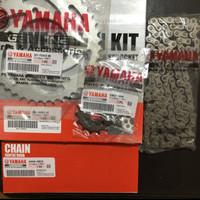 Gear set paket kit gear rantai roda yamaha vixion old lama