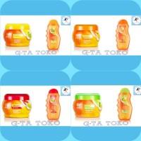 Makarizo Fibertherapy Cream 500gr dan Shampo 170ml