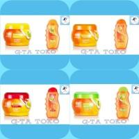 Makarizo Fibertherapy Cream 500gr dan Shampo 330ml
