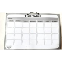 Moon Pancake Wall Monthly Planner Board (WHITE)
