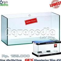 Cuci Gudang Awal Tahun GEX Glassterior Slim 450 Aquarium Cuci Gudang