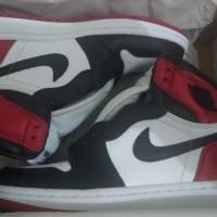 Air Jordan 1 High Satin Black Toe (US 5.5 Women / 36)