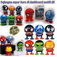 Boneka Emoji Dashboard per Goyang Karakter Superhero Avengers