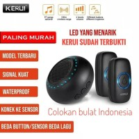 KERUI M523 Bel Pintu Rumah Wireless Multi Tone Memory 2 Transmitter