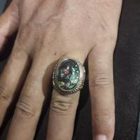cincin batu kalimaya oval