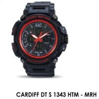 Cardiff DT S 1343 L Jam Tangan Digital Sport Unisex Anti Air