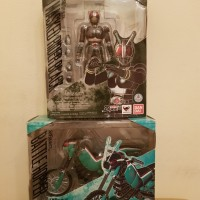 SHF Kamen Rider Black + Battlehopper Renewal 2.0