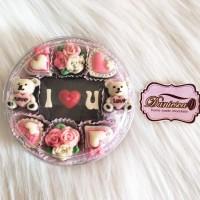 Coklat ucapan I love you hadiah valentine