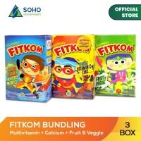 Fitkom Gummy Jelly - Isi 5 Sachet - Pack Of 3 Box