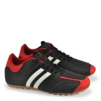 sepatu futsal HITAM merah anak by GARSEL original lokal berkualitas