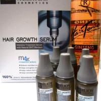 Ready Stock Hair Growth Serum + Hair Tonic Ginseng Phytantriol Rudy