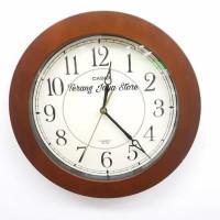 Jam Dinding Casio Iq-126 Wall Clock Casio Iq 126 Original 100%