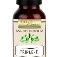 BARANG BAGUS HAPPY GREEN TRIPLE E ESSENTIAL OIL (10 ML) - MINYAK