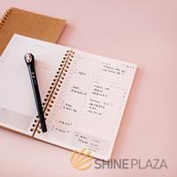 Buku Notebook - Kraft Cover Spiral Daily Planner