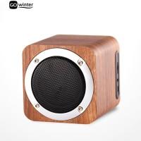 Terbaik ?? Kayu Speaker Wireless Bluetooth 4.0 TF FM Stereo Bass